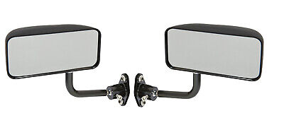 Motamec Racing 02 Formula Side Wing Mirror x2 Convex Glass MATT BLACK - F1 Car