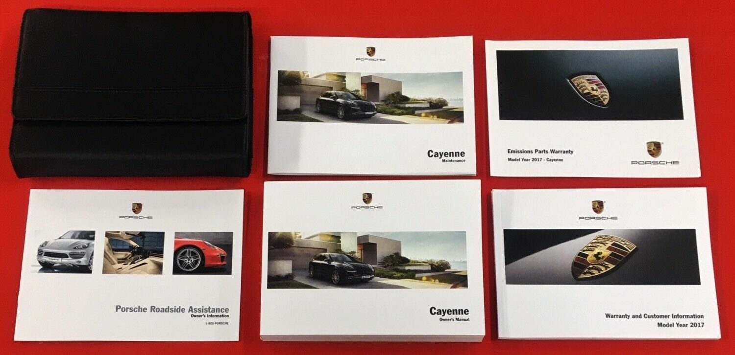 2016 2017 Porsche Cayenne Owners Manual Cayenne S GTS Turbo Owner's Manual