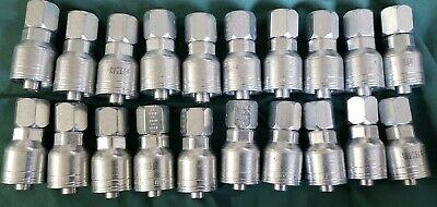 Aeroquip Eaton Hydraulic Hose Fittings 1aa8fj8 Qty 20