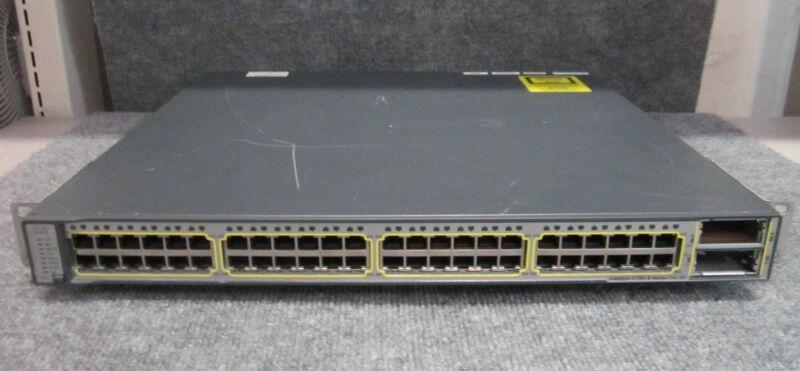 Cisco Catalyst 3750-e Poe-48 48-port Gigabit Switch Ws-c3750e-48pd-sf V04