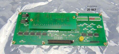 Anelva ALD-210 Display Board Helium Leak Detector *used working