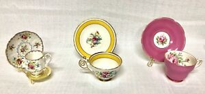 HIGHLY COLLECTABLE VINTAGE TEA CUPS