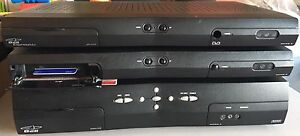 Two Bell Satellite Receivers & Powered Switch