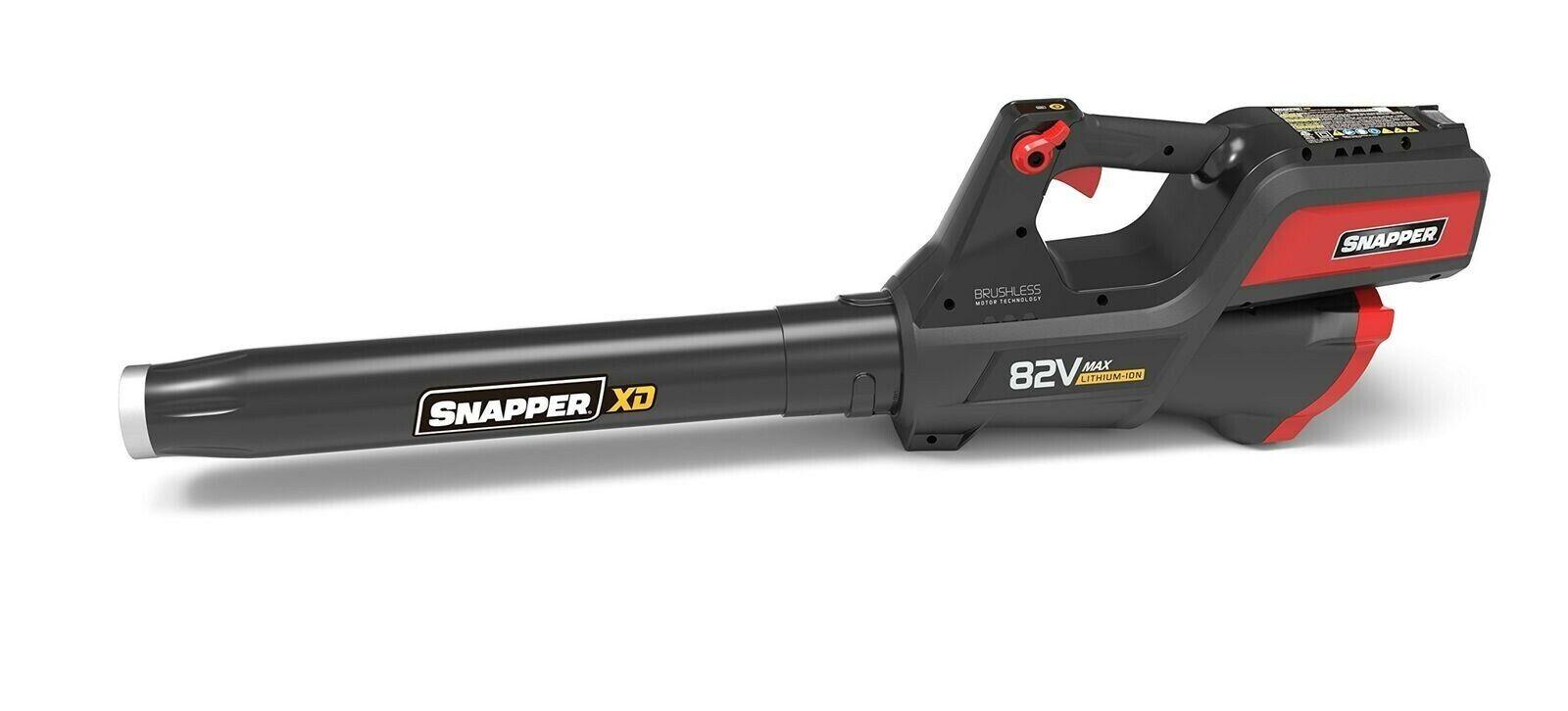 Snapper 1696775 82V Cordless Lithium-Ion 550 CFM Leaf Blower