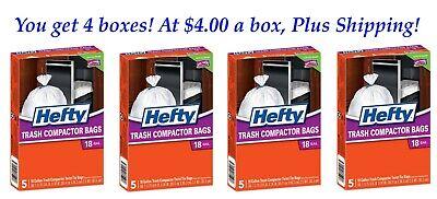 Hefty Trash Compactor Bags - Hefty Trash Compactor Bags, 18 Gallon Trash Compactor bags . You get 20 bags!