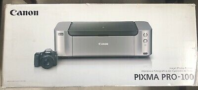 New Canon Pixma Pro-100  Pro100 Wireless Wide Format Color Photo Printer