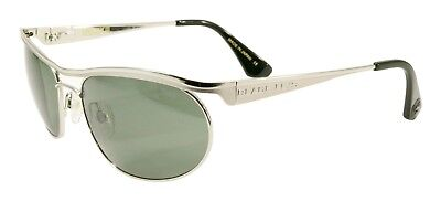 NEW Black Flys Sunglasses FIRE FLY 3 MATTE SILVER POLARIZED G-15 LENS LIMITED - Fire Flys