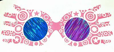 Harry Potter Inspired Luna Lovegood Decorated Spectrespecs Vinyl Decal - Luna Lovegood Spectrespecs