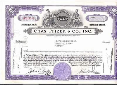 Chas. Pfizer & Co., Inc., 1960er, lila, button