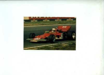 Jochen Rindt Gold Leaf Team Lotus 72C German Grand Prix 1970 Postcard
