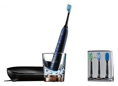 Nuevo Philips Sonicare Eléctrico Cepillo de Dientes Diamante Limpiar Lunar Azul