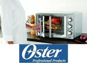 OB OSTER FRENCH DOOR TOASTER OVEN TSSTTVFDXLPP-033 245095702 With Convection Stainless Steel Home Appliances Countert...