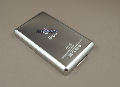 480gb metal back housing case cover for ipod 5th 6th video classic hd ssd update
