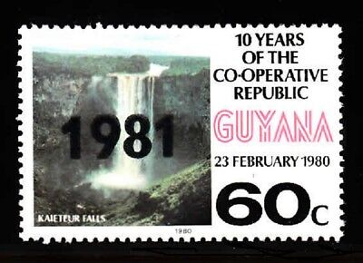GUYANA SC# 365, 366 MNH