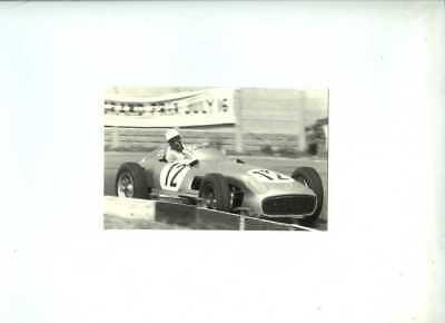 Stirling Moss Mercedes-Benz W196 British Grand Prix 1955 Postcard
