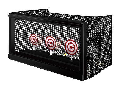 Auto Reseting Target Gun Practice Range Shooting Outdoor Cro