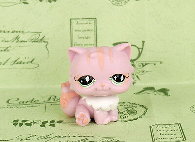Littlest Pet Shop Pink Persian Cat #460 LPS