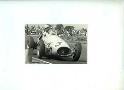 Alberto Ascari Ferrari 500 Winner British Grand Prix 1953 Postcard
