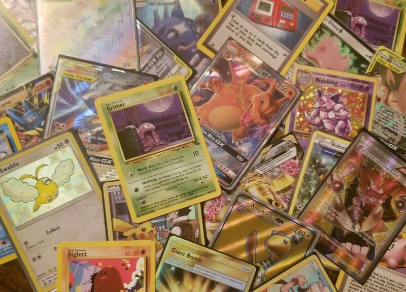 Pokemon Mystery Pack Gx, Ex, Vintage, Rare, Full Art And More! Sword And Sheild