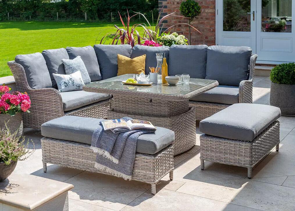Garden Furniture - Wroxham Garden Rattan Furniture By Norfolk Leisure  Handpicked 3 Styles