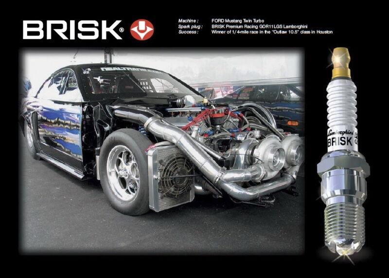 6X BRISK DOR17LGS High Performance Spark Plugs LPG, Petrol, Racing more Power