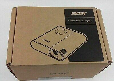 Acer C200 DLP Projector 1600 x 1200 200 lm 2000:1 Contrast Ratio