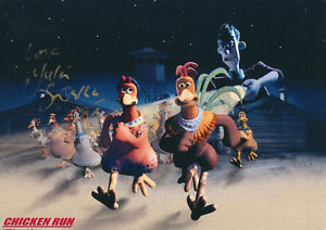 JULIA-SAWALHA-signed-12x8-Photo-CHICKEN-RUN-ABSOLUTELY-FABULOUS-COA