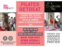 Pilates Retreat