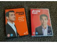 Jimmy carrs DVDs