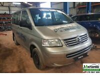 2008 Vw Transporter Shuttle Minibus ***BREAKING SPARE PARTS AVALABLE***