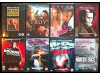 8 New DVDs: Assorted Feature Films (no.1)