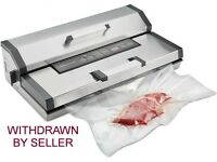 Vacuum Sealer Food Packer ideal for industrial use in cafe etc. Commercial Grade food storage