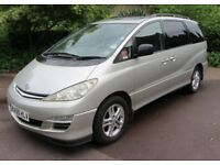 Toyota Previa D4D 2.0 Diesel 7 Seater Genuine 120,450 Miles And Full Toyota Dealer Service History