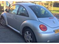 2001 vw beetle 1.6 petrol low milage very reliable