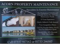 APM, Exterior maintenance specialists. Roofing, Painting, Fascias, Soffits, Landscaping and more.