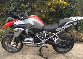 March 2016 BMW R1200GS GS LC