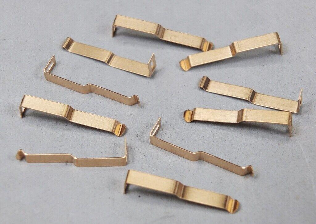 Car Parts - HO Slot Car Parts - Slottech T-Jet 1440 Pickup Shoe Lot of 5 Sets - New