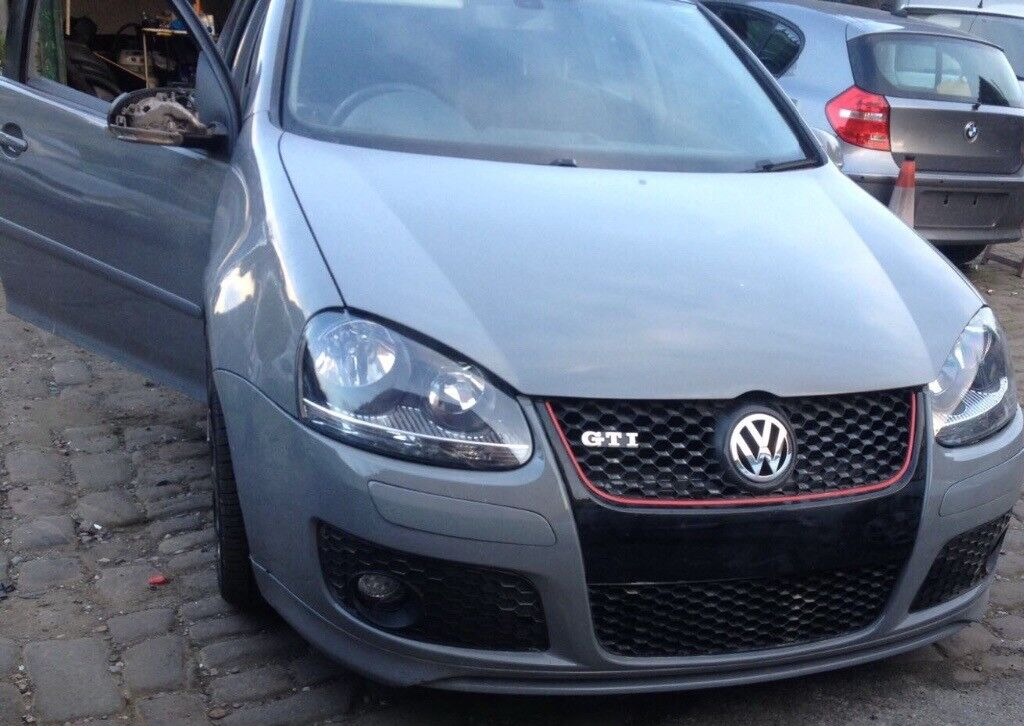 Vw Golf mk5 Gti /r32 /Golf R/ nardo grey full leather alloys led fog lights exhaust warranty px