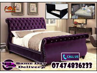 Flat Pack Swaan bed frame in chenniele ZZeS