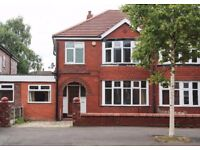 STUDENTS!! Recently refurbished 6 bedroom house in Fallowfield, Egerton Road
