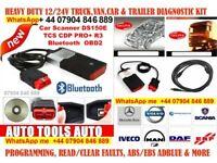 🔴car van truck diagnostics cable obd2 + software