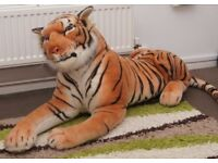 Toy full size tiger