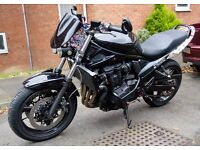Streetfighter SUZUKI GSX 650 F, K8 2008 year. Restricted for A2 drive licence