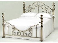 Brand New packaged King size Harmony Florence Antique Brass Metal