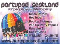 Bouncy Castle Hire Hot tub hire Inflatable Cinema Hire Marquee Hire Disco Dome Hire Candy Cart Hire