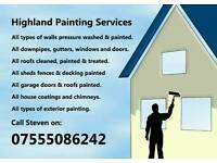Highland painting services