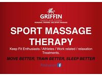 Sports Massage (Deep Tissue) Therapy