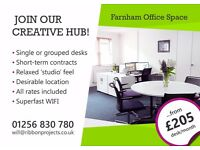 Flexible Office Space To Let in Farnham.