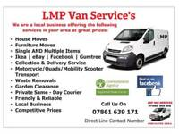 Man with Van Service South Yorkshire Area