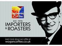 ACCOUNTANT FOR WOGAN COFFEE ROASTERS FULL OR PART-TIME